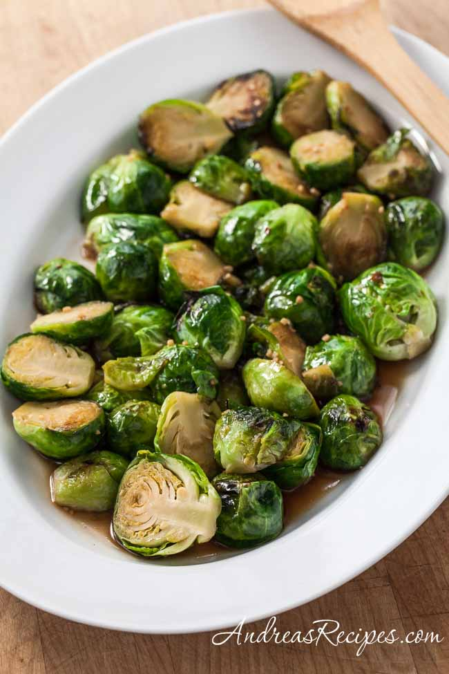 Thai Stir-Fried Brussels Sprouts Recipe (The Kids Cook ...