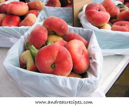 Andrea's Recipes - Donut Peaches at the Central New York Regional Market, Syracuse