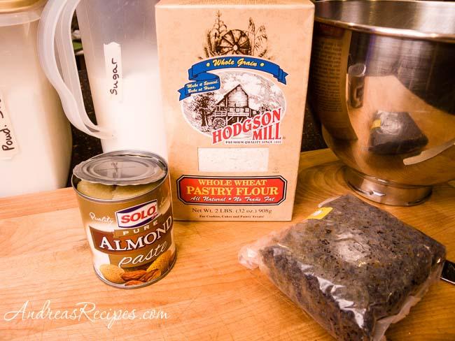 Andrea's Recipes - Cajun macaroons ingredients
