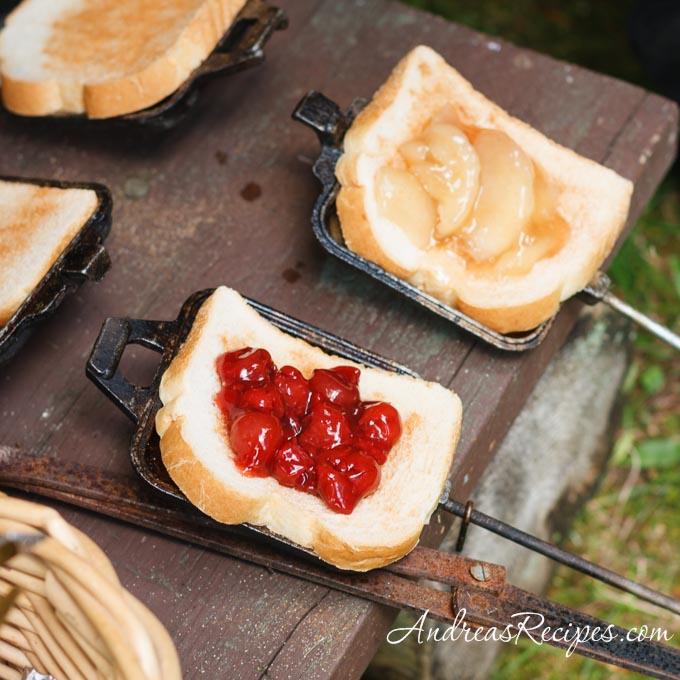 Andrea's Recipes - Campfire Pies