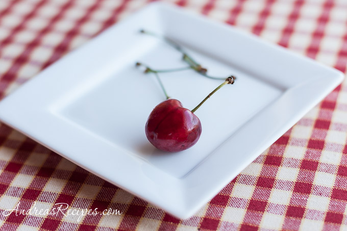 Andrea Meyers - Cherry on a plate