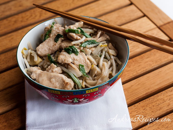 Chicken Chow Fun - Andrea Meyers