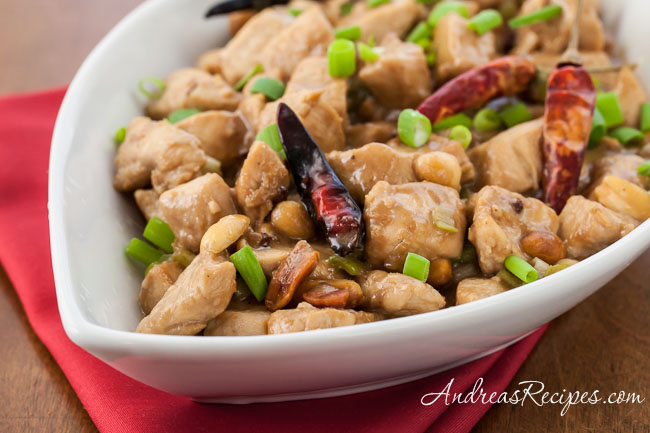 Kung Pao Chicken - Andrea Meyers