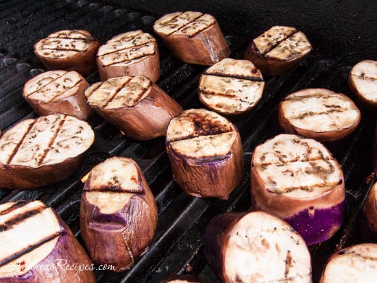 Andrea's Recipes - Grilled Chinese Eggplant