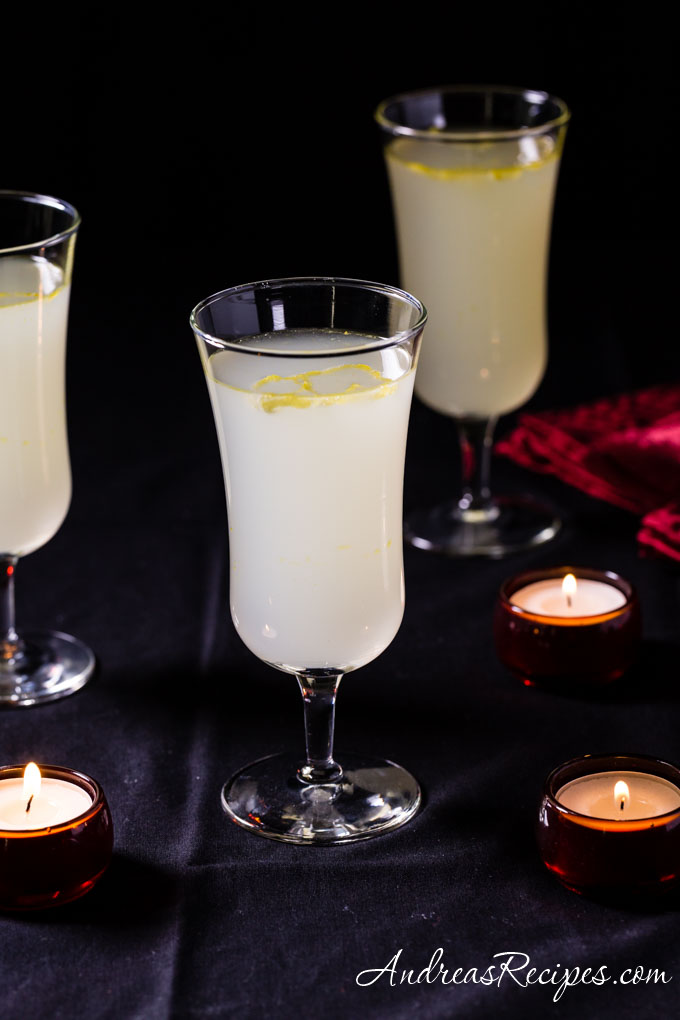 Limoncello Sparkle Cocktail - Andrea Meyers