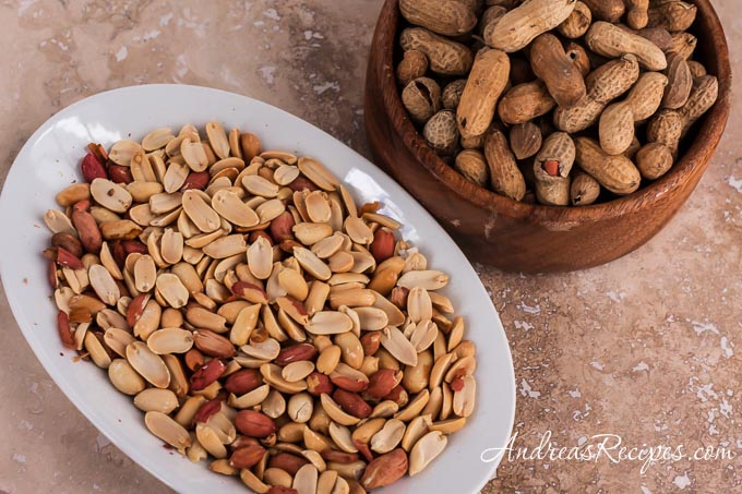 Peanuts for Homemade Peanut Butter - Andrea Meyers