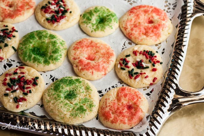 Andrea Meyers - Mexican Butter Cookies with Sprinkles (Galleta con Chochitos)