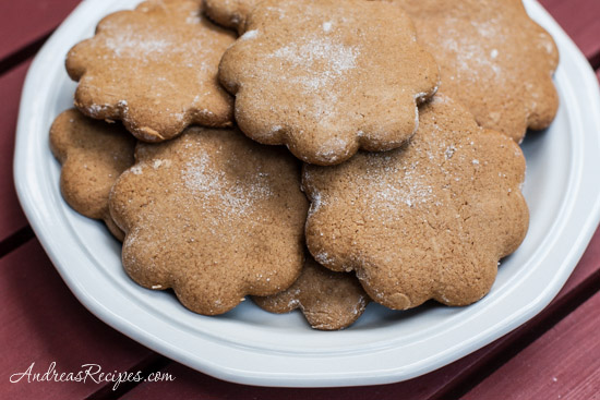 Andrea Meyers - Joe Froggers (New England Molasses Cookies)