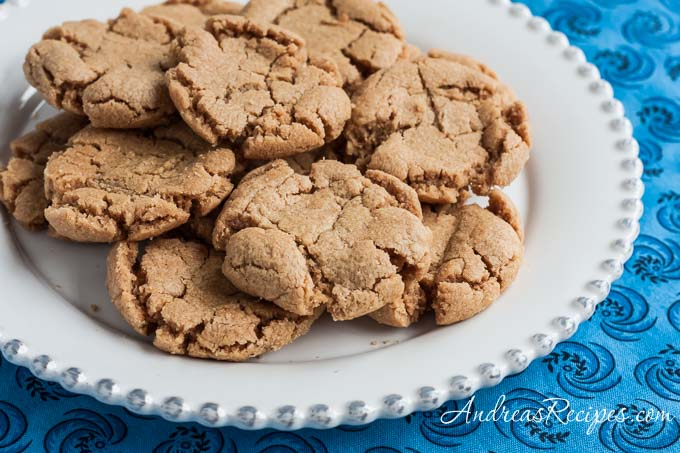 Peanut Butter Cookies - Andrea Meyers