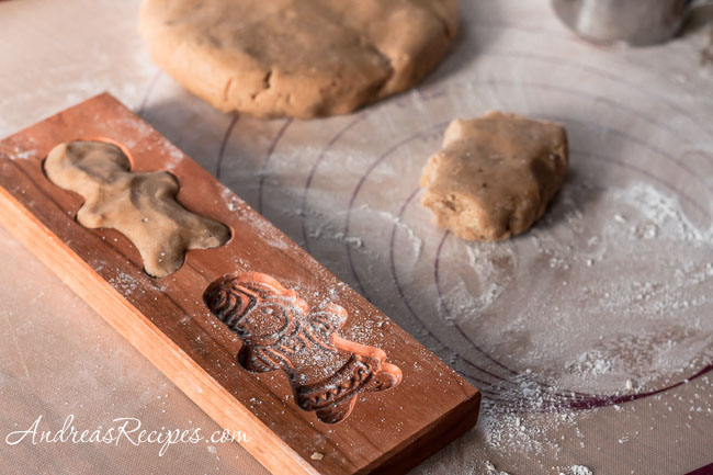 Andrea Meyers - Making Speculaas (Molded Ginger Cookies)