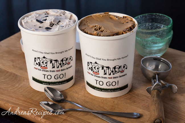 Ice Cream from Moo Thru - Andrea Meyers