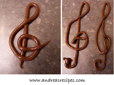 The Opera Cake G clef practice, good and bad