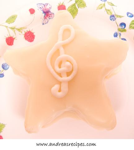 Opera Cake, star shape