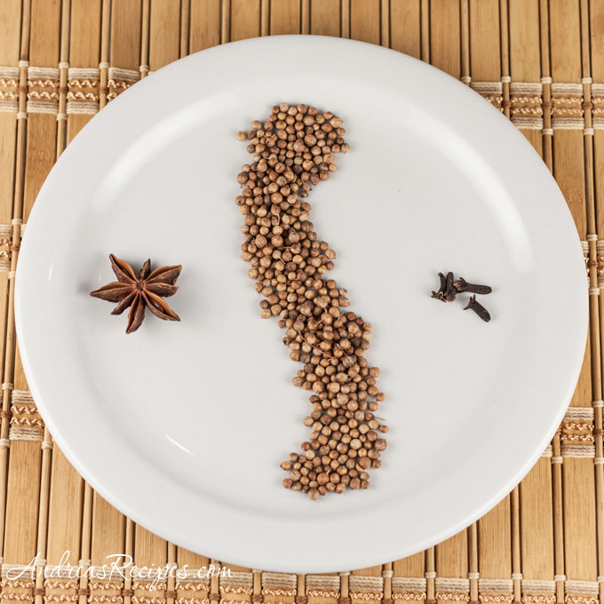 Andrea Meyers - spices for Steamy Kitchen's Pho Ga
