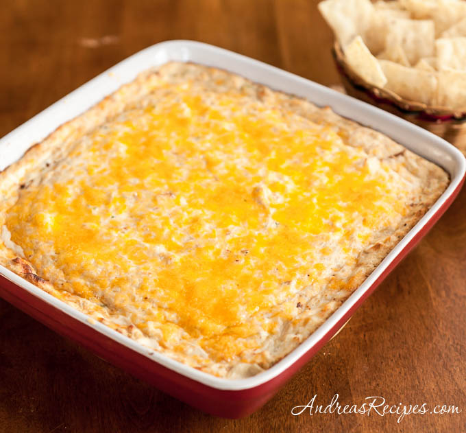 Hot and Spicy Jalapeno Crab Dip - Andrea Meyers