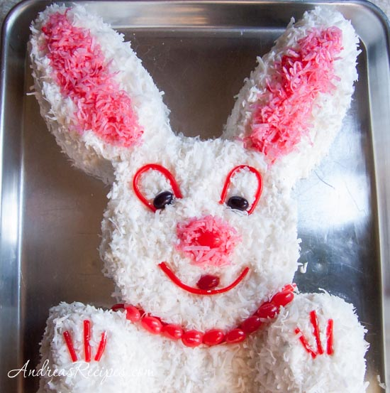 Andrea's Recipes - Easter Bunny Cake and a Lesson in Frugality