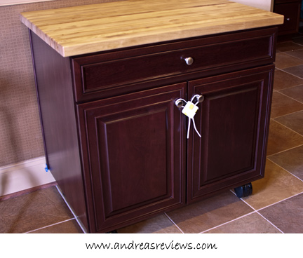 KraftMaid Floating Kitchen Island Andrea Meyers - Kraftmaid kitchen island