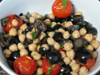Mele Cotte - Chick Pea and Tomato Salad