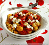 What's for Lunch Honey - Caramelized Homegrown Tomatoes on Homemade Gnocchi