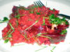 African Vanielje - Beetroot Risotto
