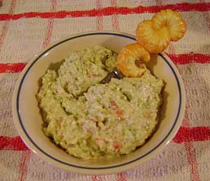 The Crispy Cook - Soybean Feta Dip