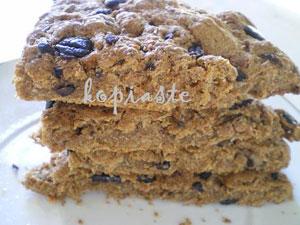 Kopiaste - Whole Wheat Focaccia with Kalamata Olives