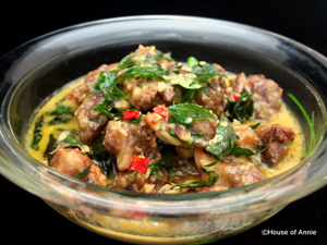 House of Annie - Fried Pork with Evaporated Milk