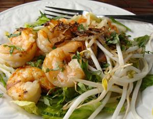Lemony Zest - Shrimp Bun, Vietnames-style Rice Noodle Salad