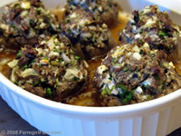 Farmgirl Fare, Stuffed Mushrooms