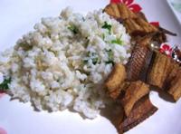 A Scientist in the Kitchen, Cilantro Rice