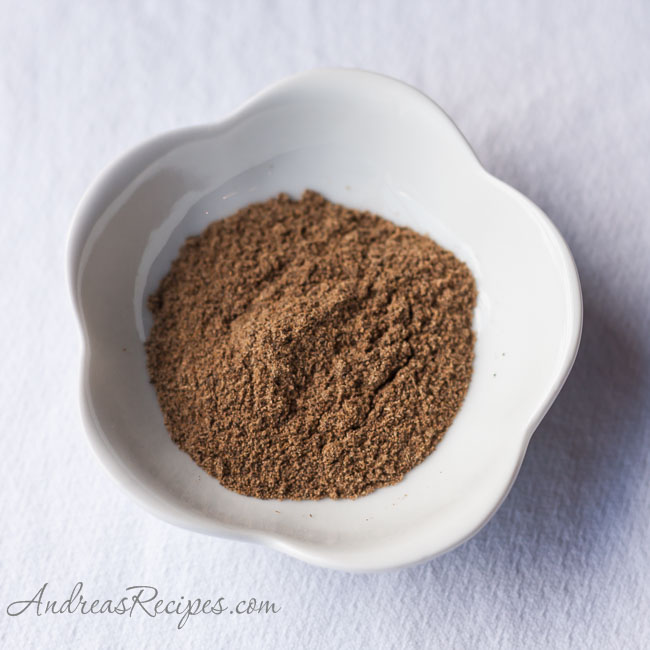 Andrea's Recipes - Garam Masala