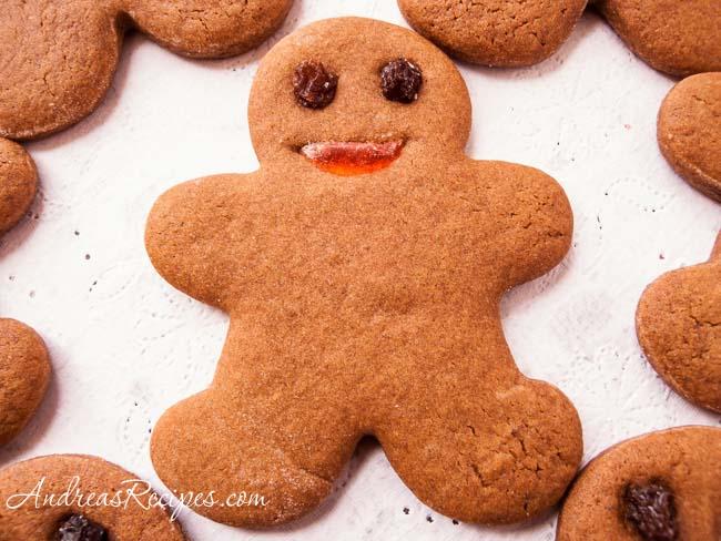 Gingerbread Men Cookies - Andrea Meyers