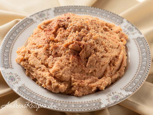 Andrea Meyers - Mashed Sweet Potatoes with Moroccan Spices