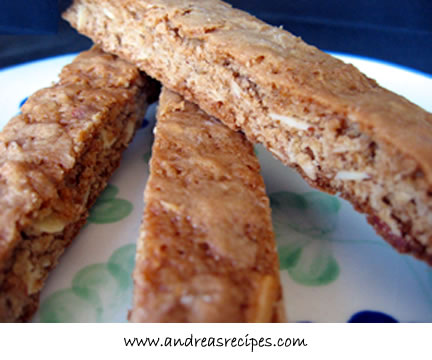 Granola Biscotti