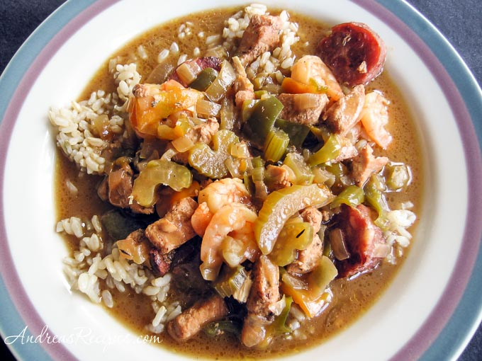 Andrea Meyers - Empty the Freezer Gumbo