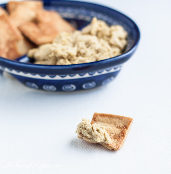 Andrea's Recipes - Roasted Garlic Hummus