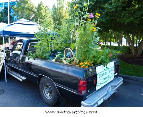 Andrea Meyers - garden in a truck, Seattle Urban Farm Co.
