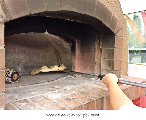Andrea Meyers - hot brick oven pizza, IFBC food truck lunch