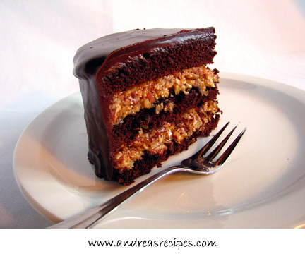 Andrea's Recipes - Inside Out German Chocolate Cake