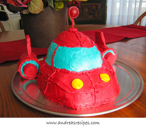 Astonishing Little Einsteins Rocket Birthday Cake Recipe Andrea Meyers Funny Birthday Cards Online Alyptdamsfinfo