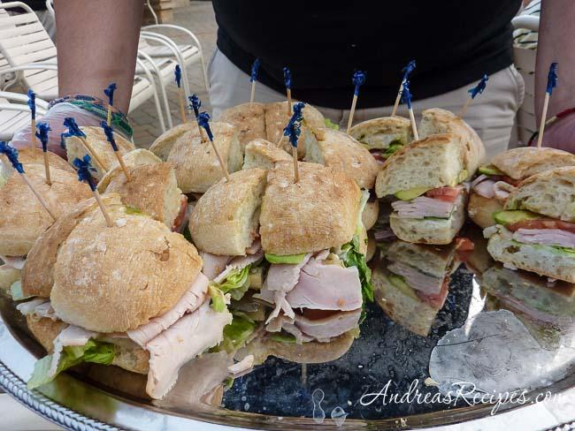 Andrea Meyers - Lifetime Turkey Avocado sandwiches