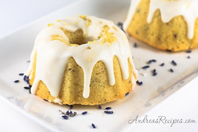 Lavender Pound Cake - Andrea Meyers
