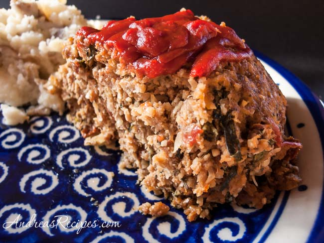 Italian-Style Meatloaf - Andrea Meyers