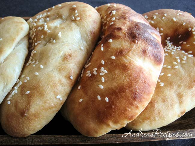 Fluffy Naan Bread - Andrea Meyers