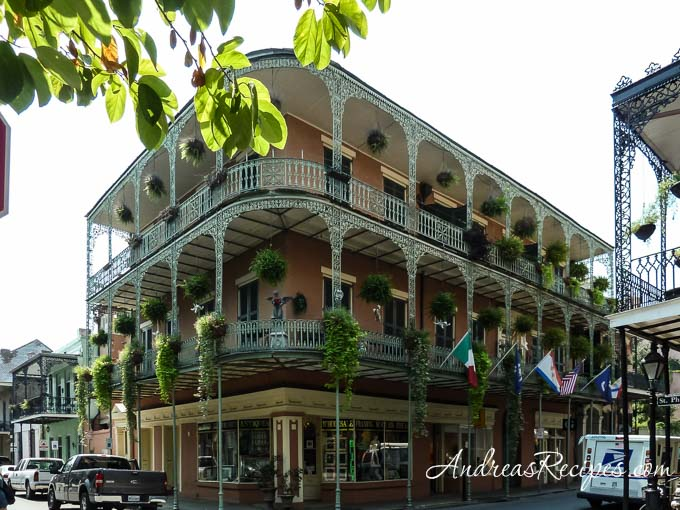 Andrea Meyers - New Orleans balconies