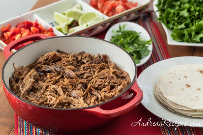 Slow Cooker Pork Carnitas - Andrea Meyers