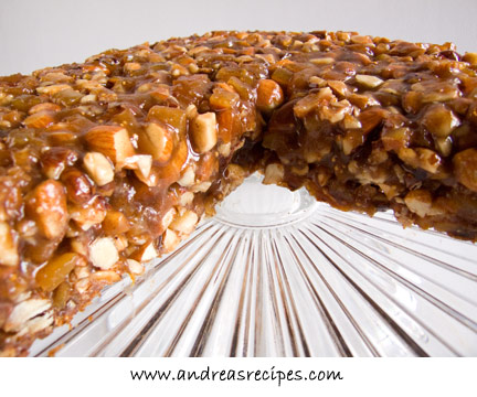 Panforte Sliced