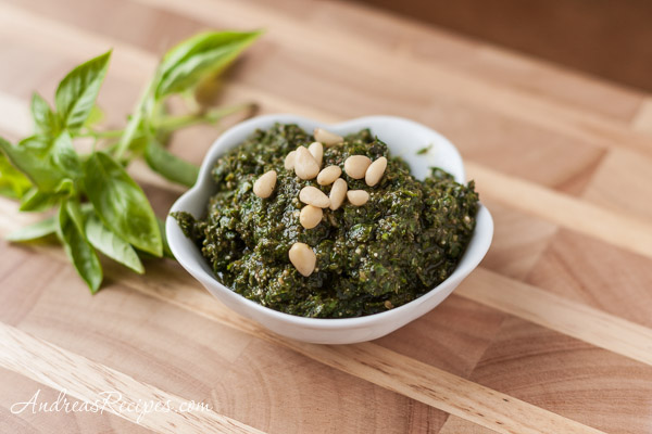 Basic Basil Pesto Recipe - Andrea Meyers