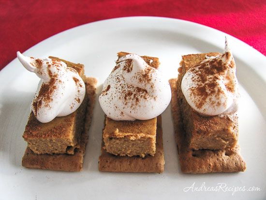 Pumpkin Pie Cookie Bites - Andrea Meyers