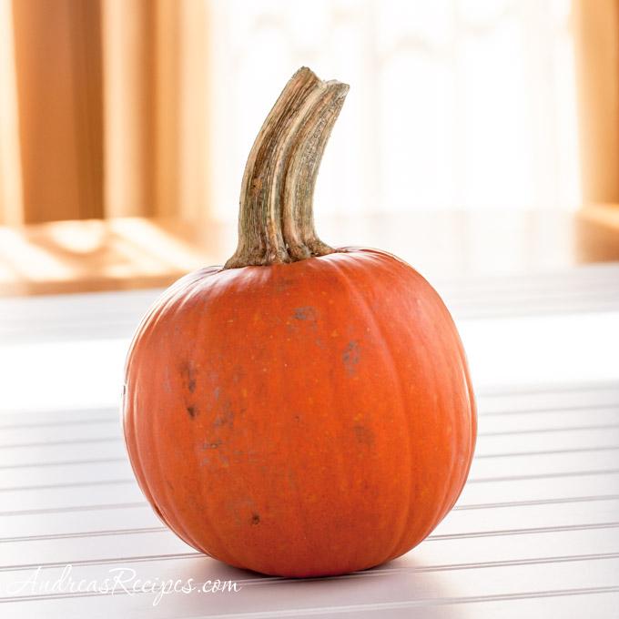 How to Roast a Pumpkin and Make Pumpkin Puree - Andrea Meyers